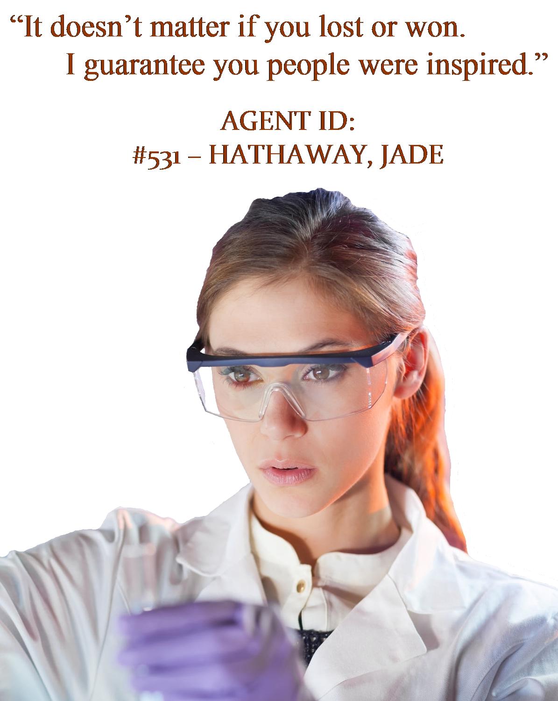 Hathaway, Jade - Quote